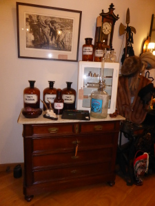 oude Apotheek flessen