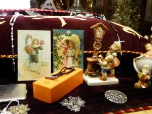 kerstmis Etalage 2014 met Hummel figuur